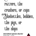 Drat The Peelers!