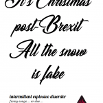 A Very Brexit Christmas poster image